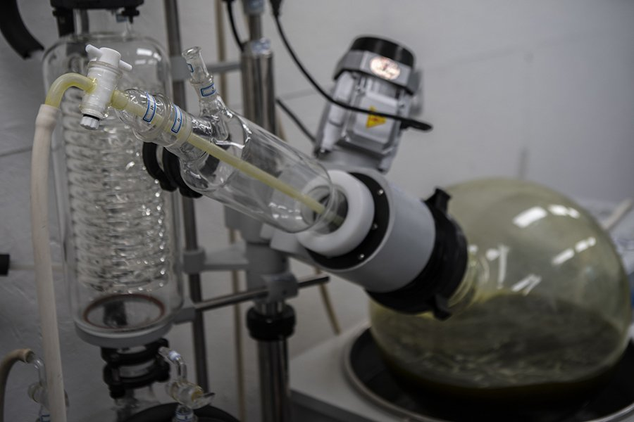 CBD distillation equipment