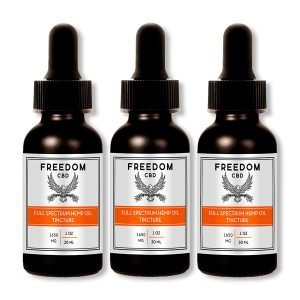 3 pack of full spectrum cbd tincture