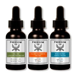 CBG + CBD 1:1 Tincture Bottle, Full Spectrum Tincture Bottle, Broad Spectrum Tincture Bottle